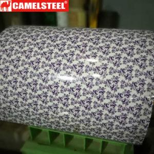 pattern design ppgi, Flowers Pattern PPGI