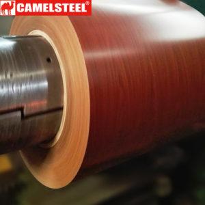 wood grain prepainted galvanized steel coil
