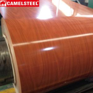 wood prepainted galvanized steel plate